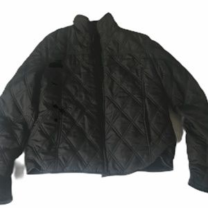 Weatherproof Women's Black Jacket Reversible Waist